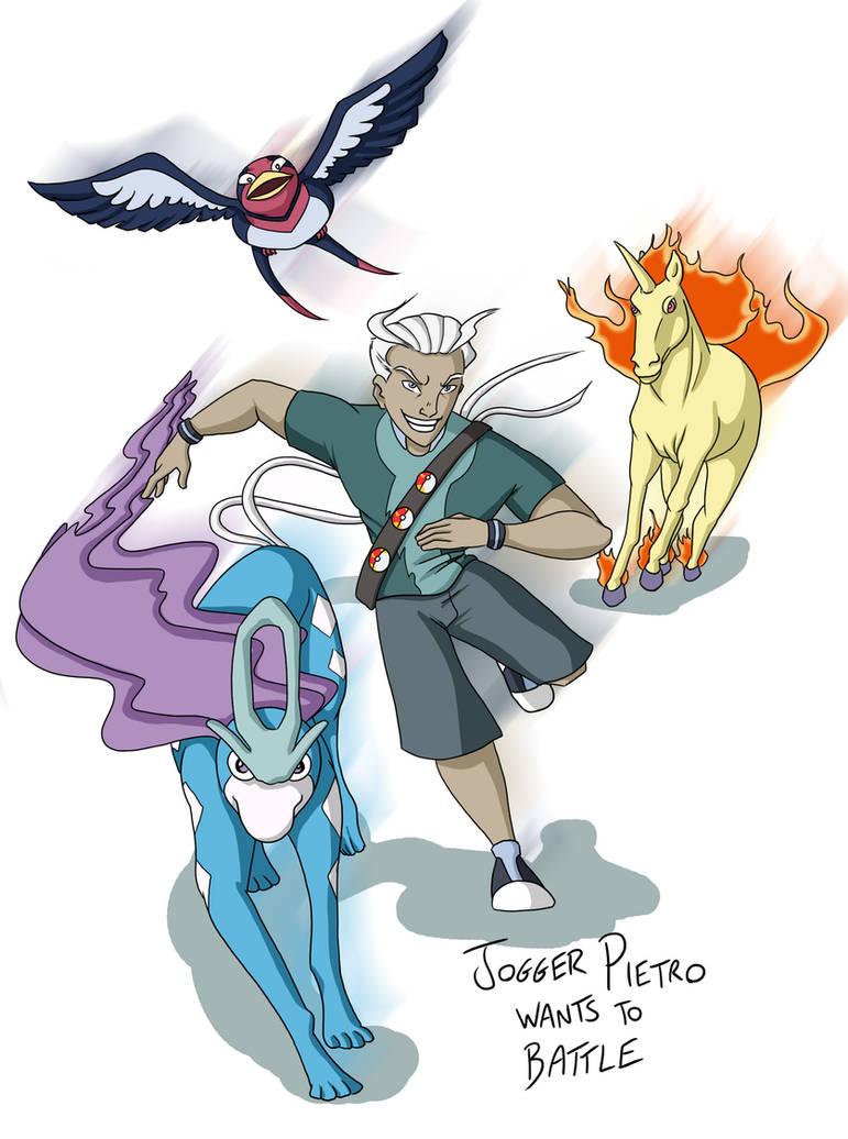 X-men: Pokemon -- Quicksilver by BlazeRocket