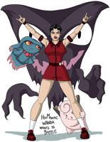 X-men: Pokemon -- The Scarlet Witch by BlazeRocket