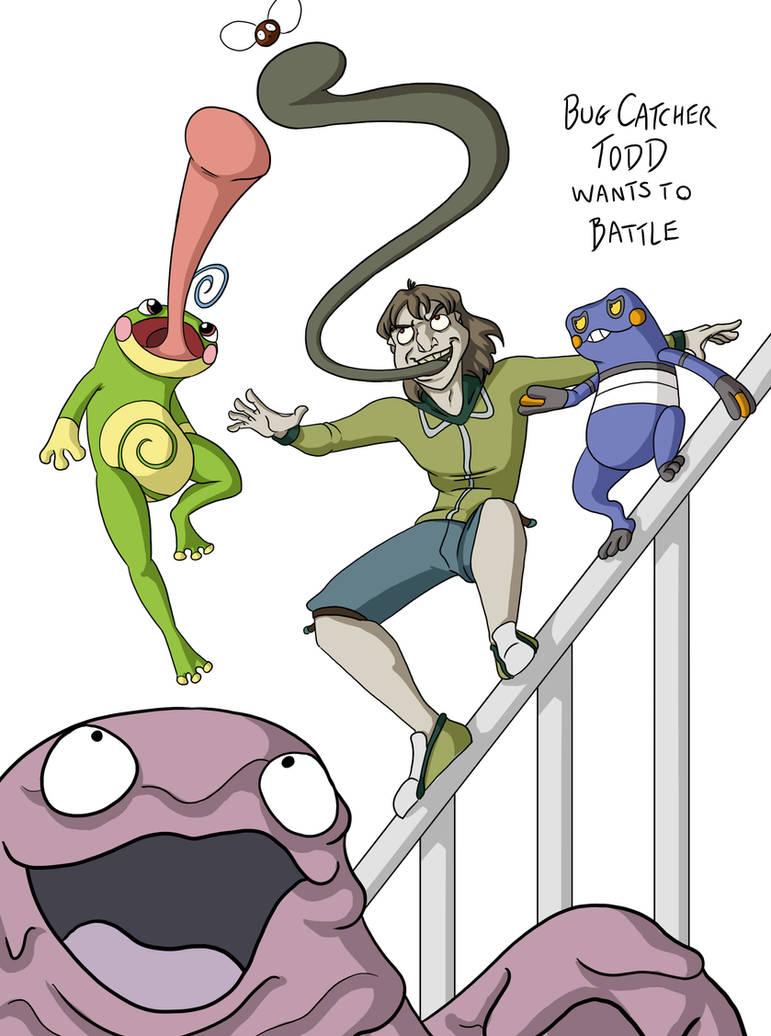 X-men: Pokemon -- Toad by BlazeRocket