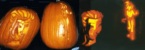X-Men: Evolution Pumpkins