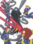 X-Men Vrs. Giant Ock