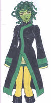 Gorgon's Black Queen Outfit