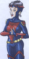 X-man: Scarlet Witch by BlazeRocket