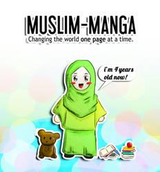 Muslim Manga 4th Anniversary by SirImran