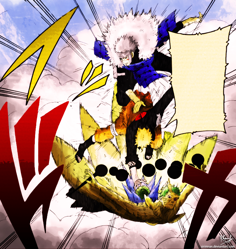 Naruto Manga Panel Coloring Chapter 642 Page 14 by SirImran on