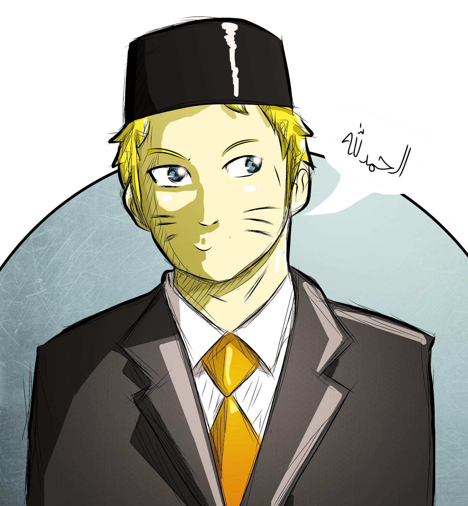 Anime Naruto Islami Imam Muda By Sirimran On Deviantart