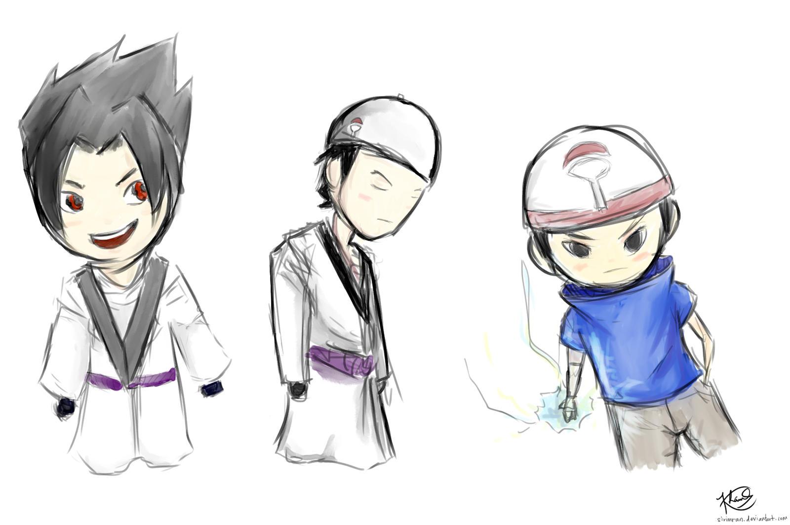 Gambar Anime Naruto Islam Sasuke Muslim Chibi Sketch By Sirimran On Deviantart