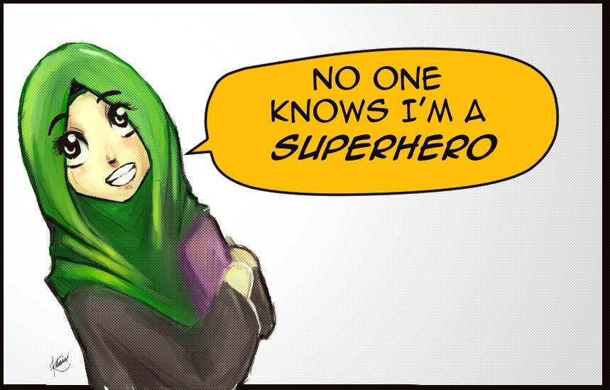 I'm a Super Hero! by SirImran