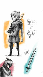 Knight in Hijab