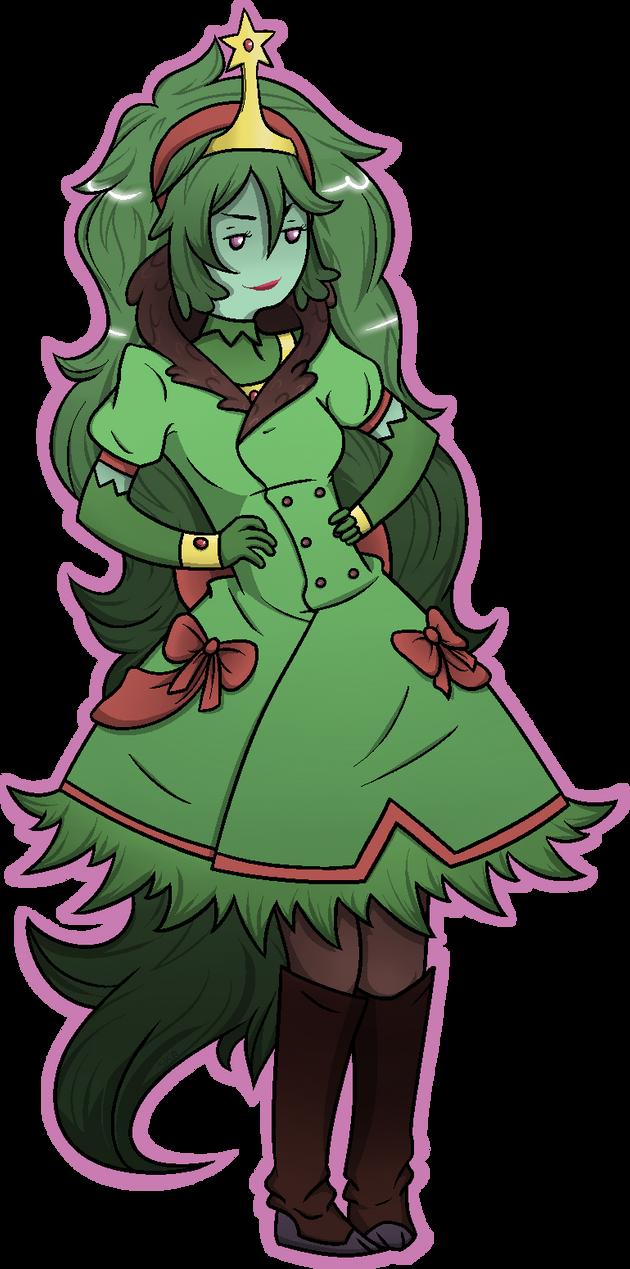 Conifer Princess by pixelodon