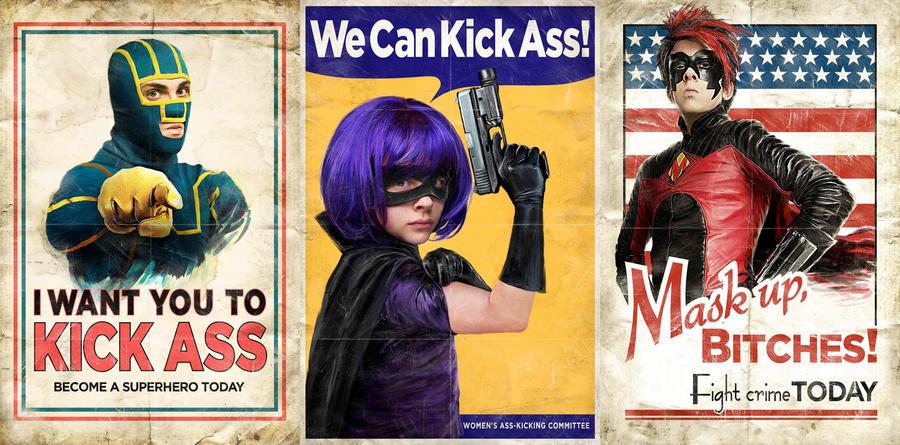 Kick-Ass poster wallpaper by A-New-Power
