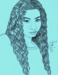 Self portrait by Andreina96