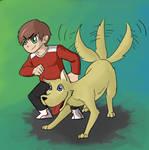 Boy And Doggo