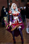 Heartseeker Ashe cosplay