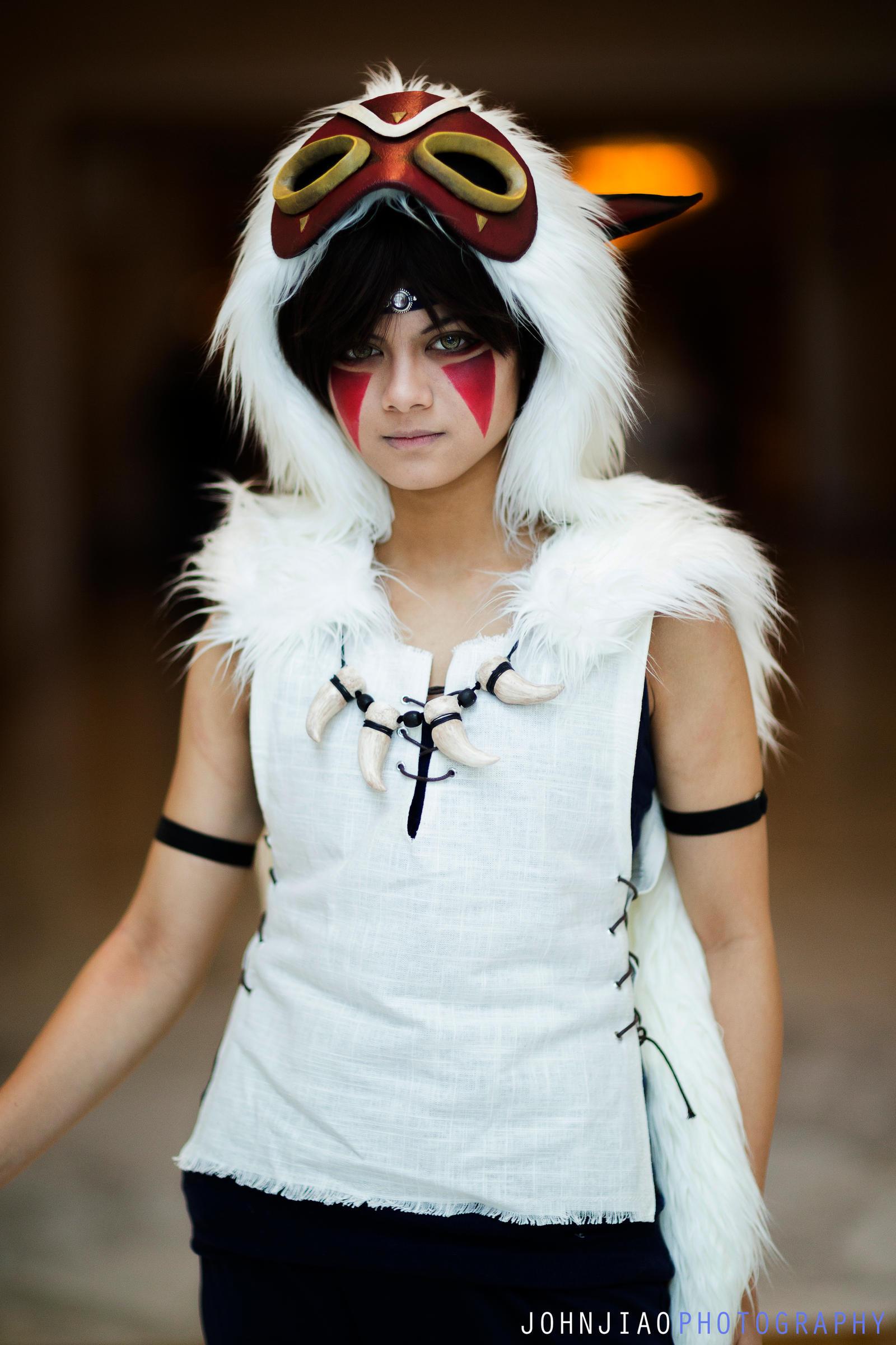 Princess Mononoke cosplay by JohnJiaoPhotography on DeviantArt