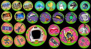 The Nickelodeon Kids Choice Code-Collector Badge