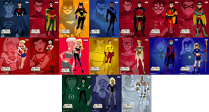 Young Justice and Teen Titans Team DCAU Style