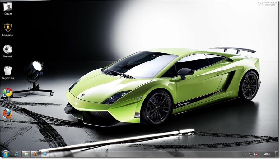 Lamborghini Theme by iDR3AM