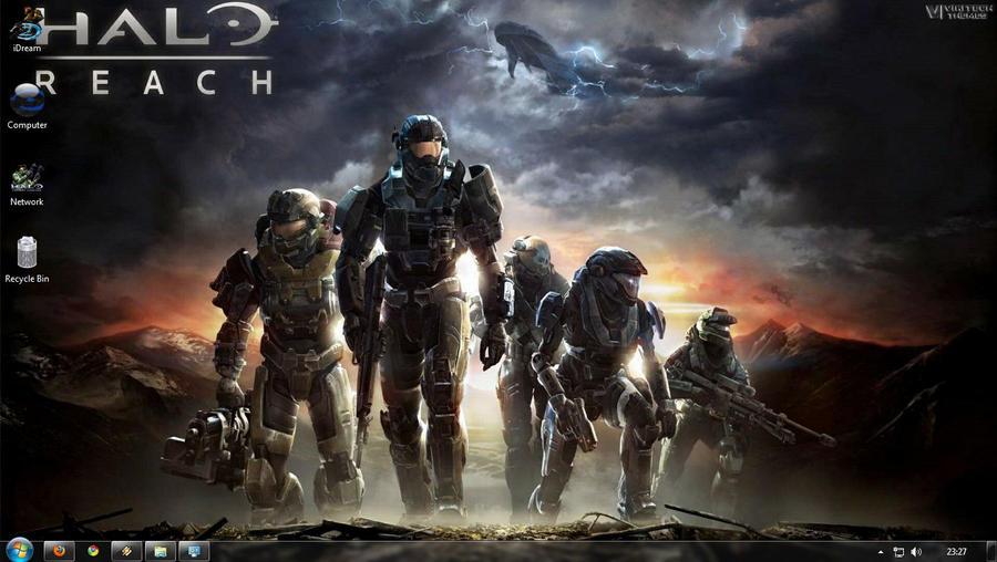 Halo Reach by iDR3AM