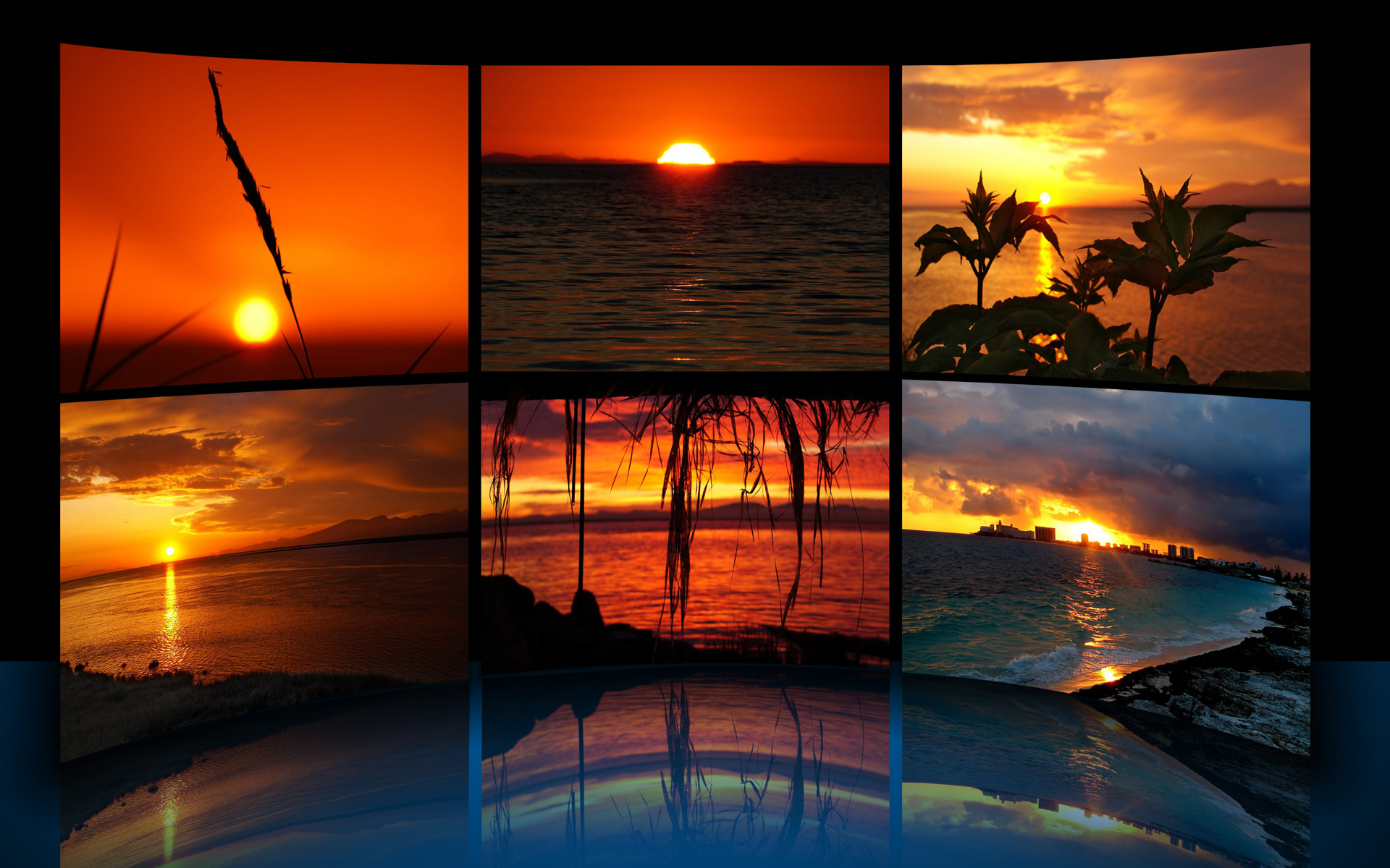 Shades of Sunset Theme by iDR3AM