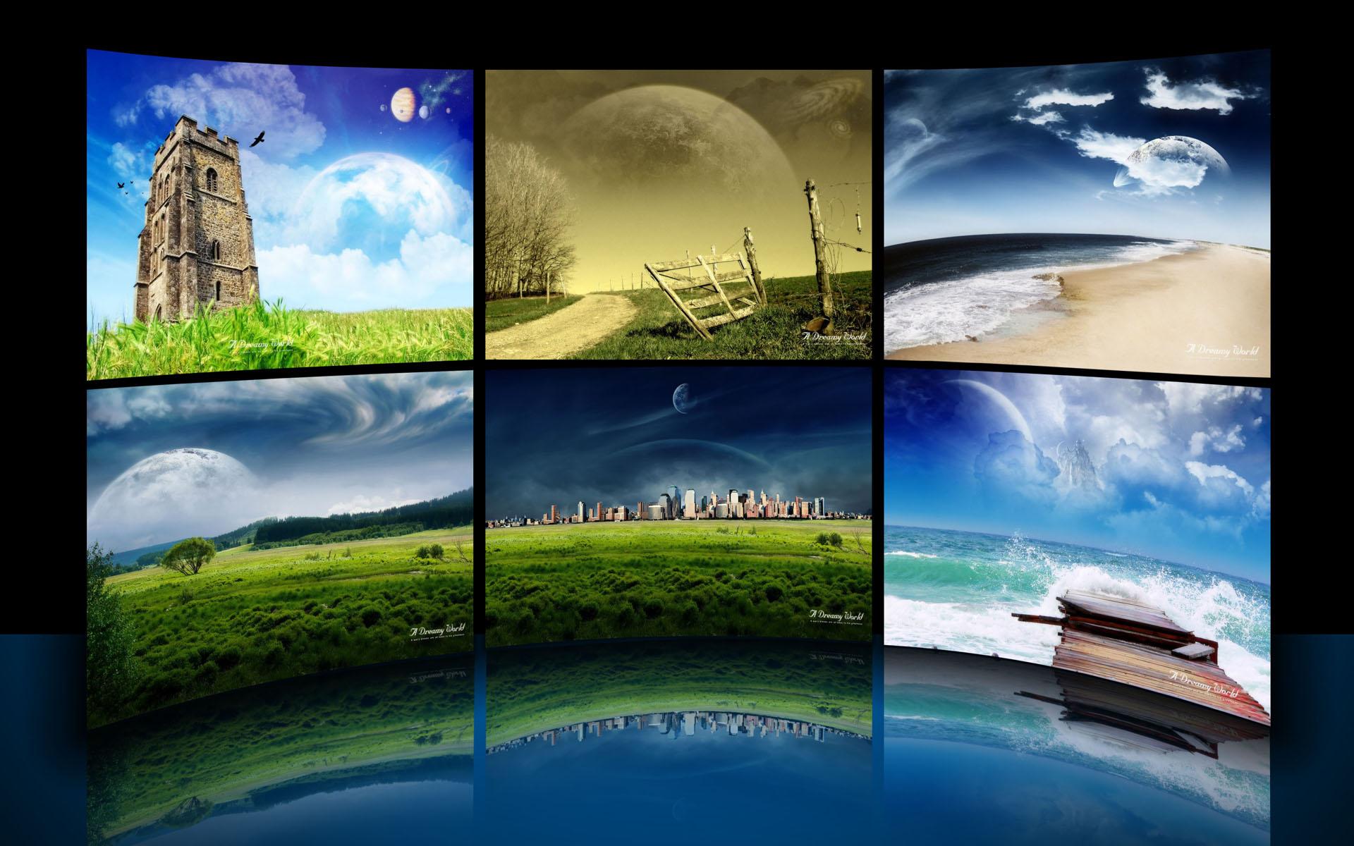 A Dreamy World Theme by iDR3AM