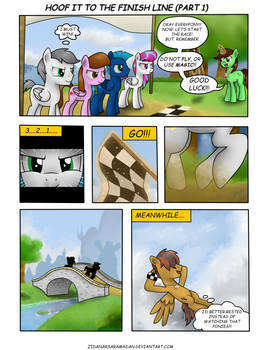 Hoof it to the Finish Line .: Part 1 :.