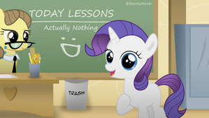 Hello, I'm Rarity