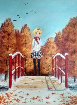 Snowy Autumn