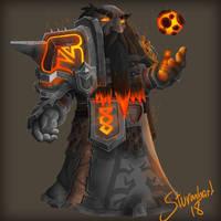 Dark iron dwarf shaman  by Sturmbart