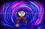 Coraline Stained Glass
