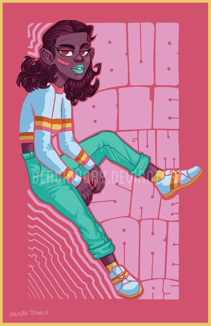 Bubblegum Sneakers by BlackIvoryy