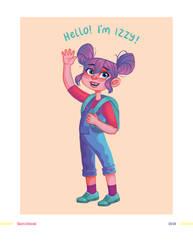 Izzy Illustration by BlackIvoryy