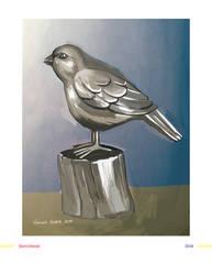 Brass Bird Study by BlackIvoryy