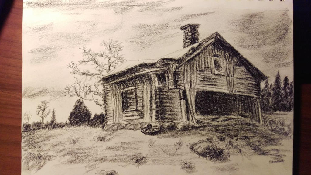 Old Barn 01152018 By Akarudsan