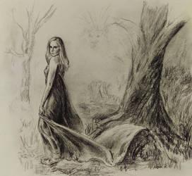 Forest Queen by akarudsan