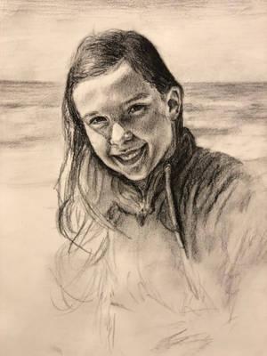 Anna by the Gulf of Mexico by akarudsan
