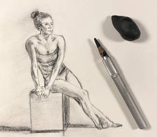 Figure practice 15 minutes sketch by akarudsan