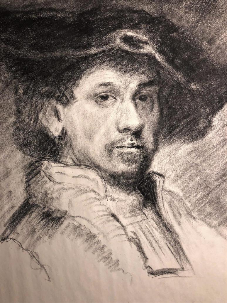 Rembrandt study  by akarudsan