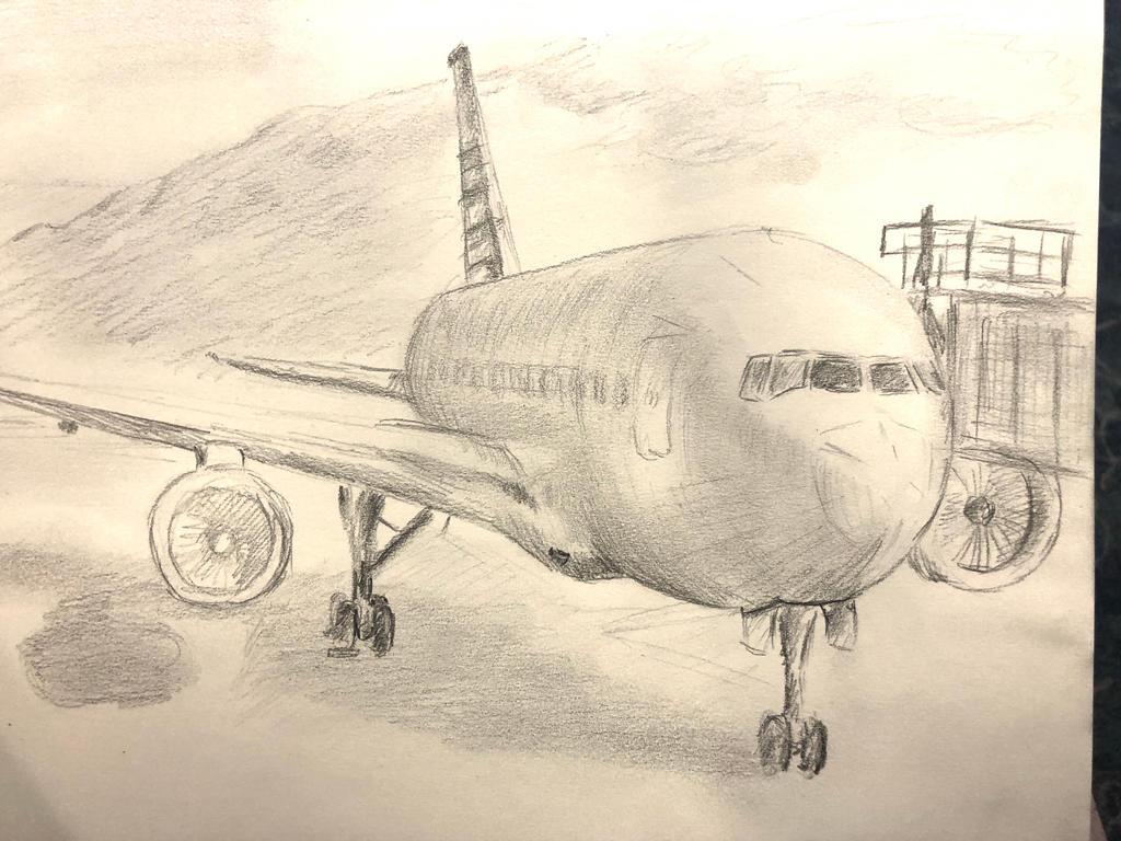 Maui plane back to Chicago by akarudsan