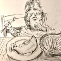 Little munchkin 2 by akarudsan