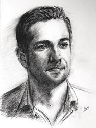 Zachary Levi by akarudsan