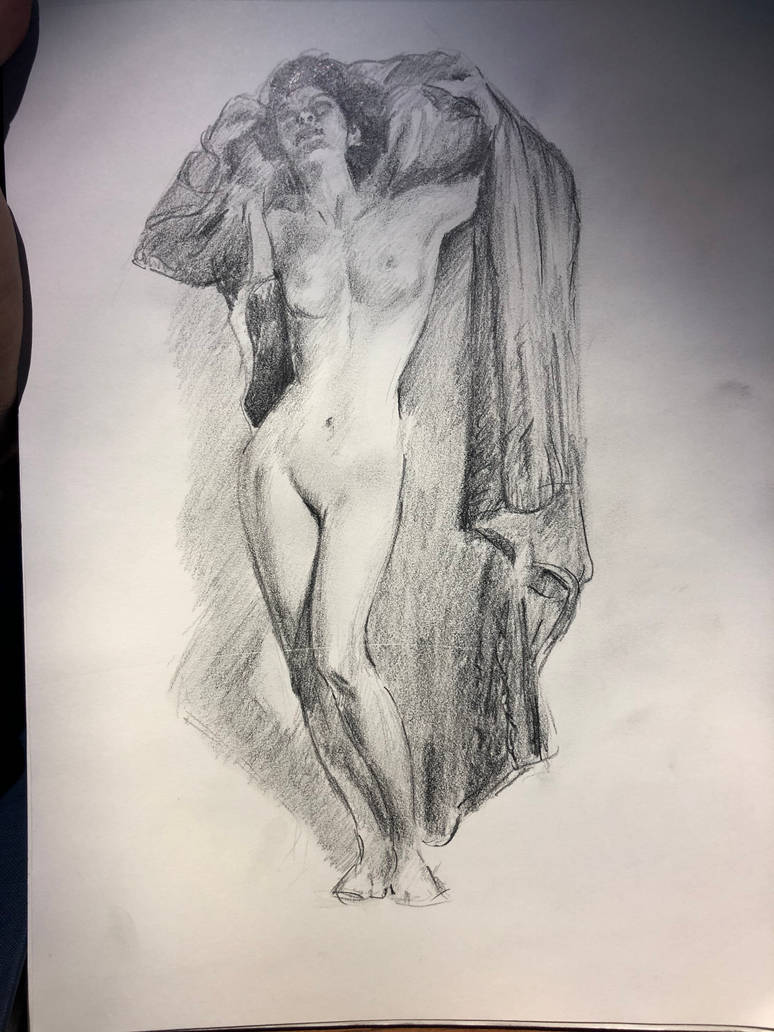 And a little bit of figure drawing by akarudsan