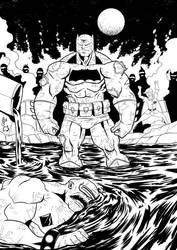 Digital Comic Inker - Dark Knight Returns by EmanuelBraga
