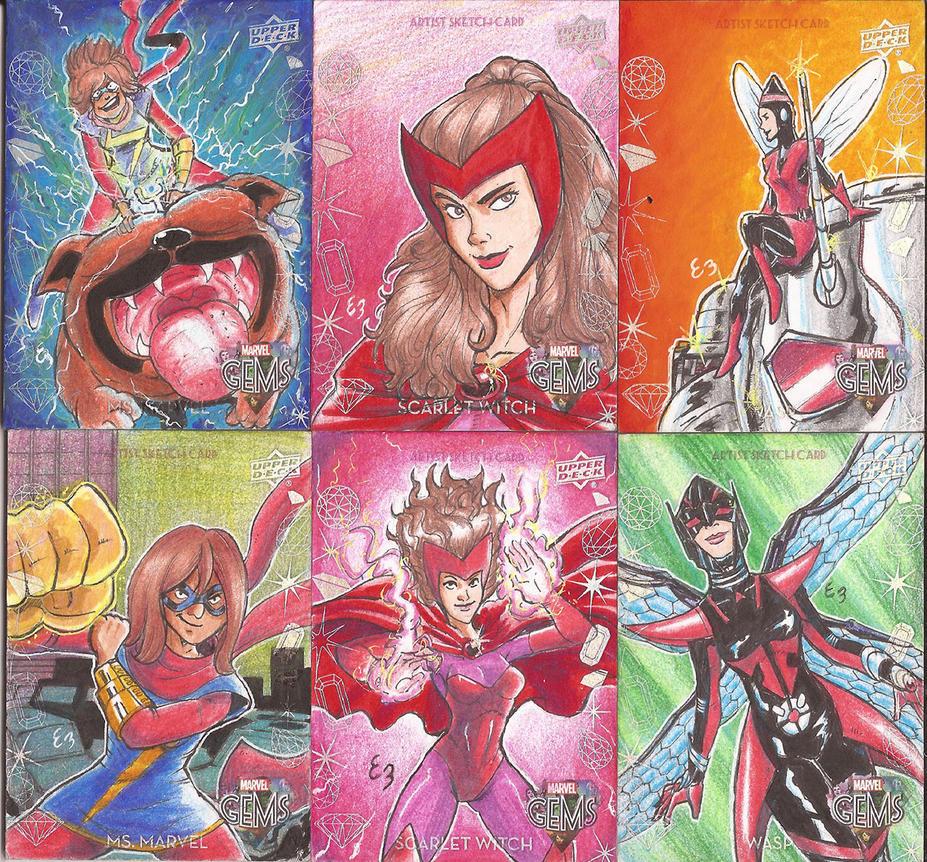 Ebraga Marvel Gems 08 by EmanuelBraga