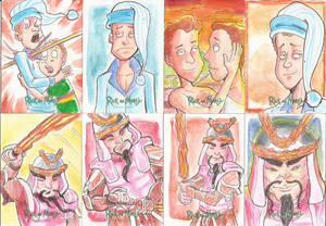 7 - Sketch Cards Rick and Morty Season Two 2