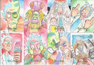 11 - Sketch Cards Rick and Morty Season Two 2