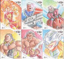 Marvel Premier 2019 Skecth Cards 1
