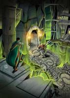 RPG ART COMMISSION by EmanuelBraga