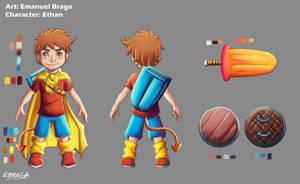 Ethan Character Sheet by EmanuelBraga