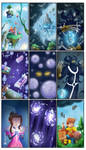 Fantasy comic Page 01 by EmanuelBraga
